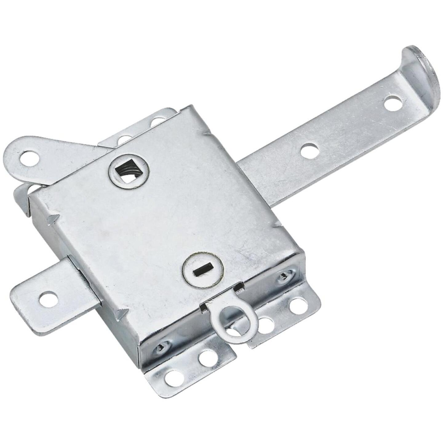 National 7-1/2 In. W. Garage Door Side Lock Image 1