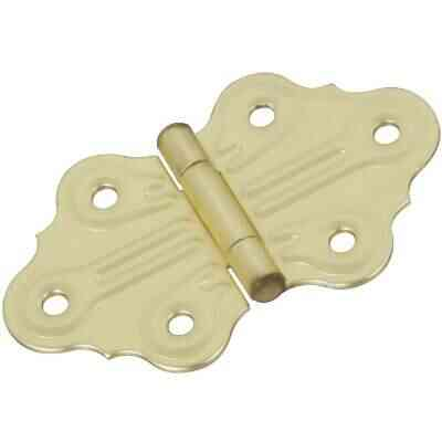 National 1-1/4 In. Ornamental Cabinet Hinge (2-Pack)