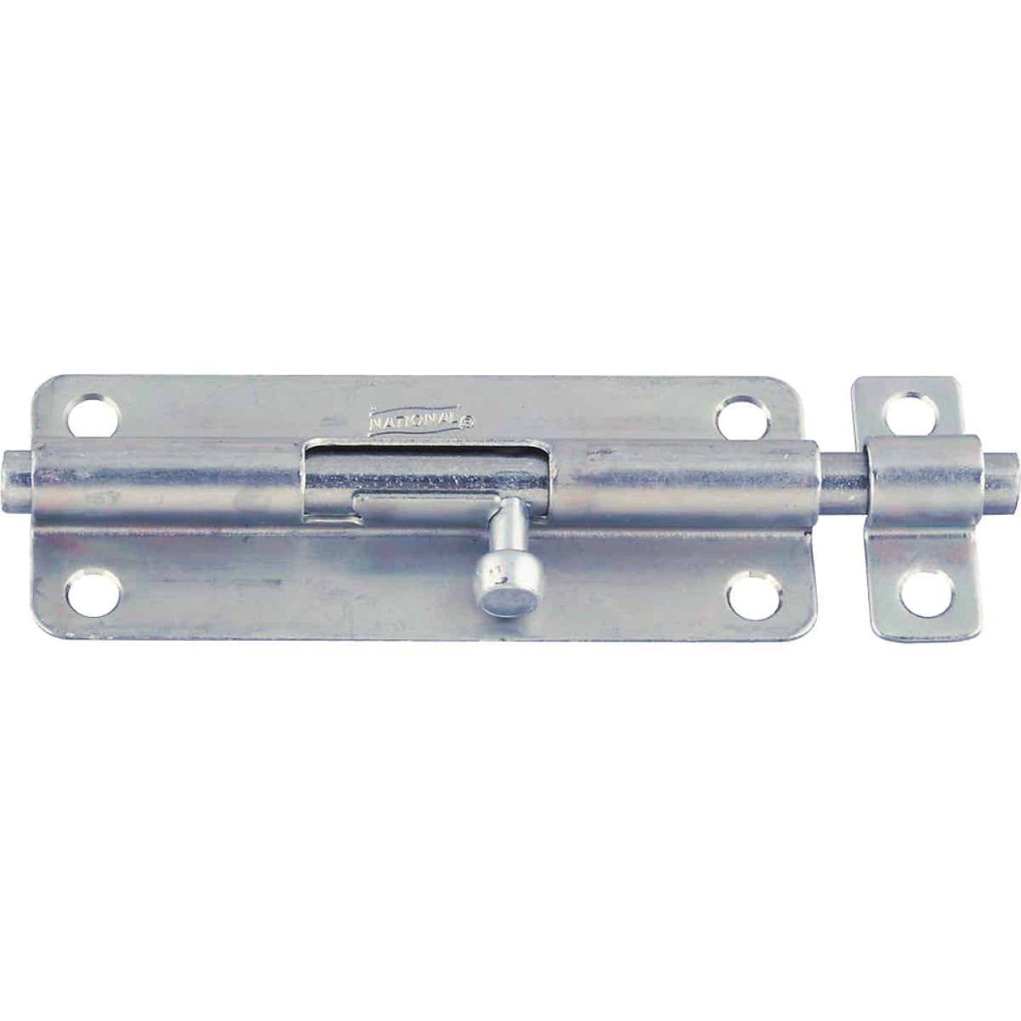 National 5 In. Zinc Steel Door Barrel Bolt Image 1