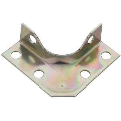 National Catalog V114 Series 2 In. x 5/8 In. Zinc Corner Brace (4-Count)