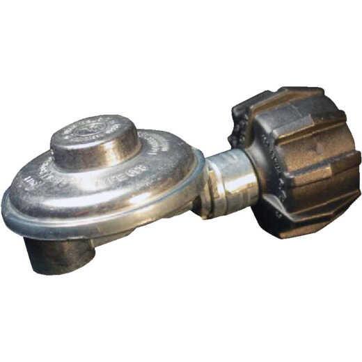 MR. HEATER 3/8 In. FPT x Coupling Nut Low Pressure 90 Deg Angle LP Low-Pressure Regulator