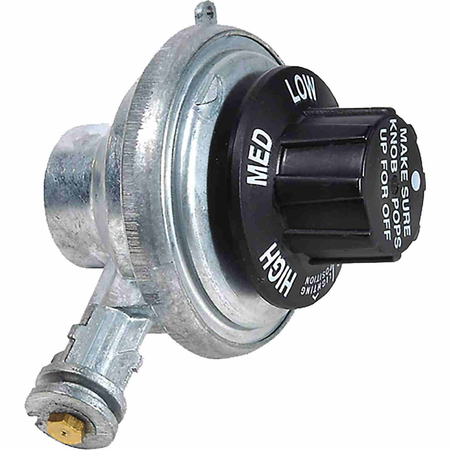 MR. HEATER Steel Portable Tabletop Propane Gas Regulator Image 1