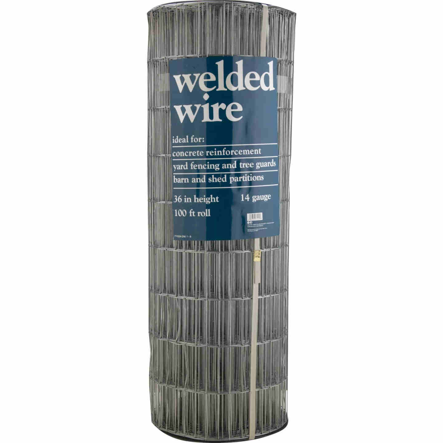 36 In. H. x 100 Ft. L. (2x4) Galvanized Welded Wire Fence Image 2