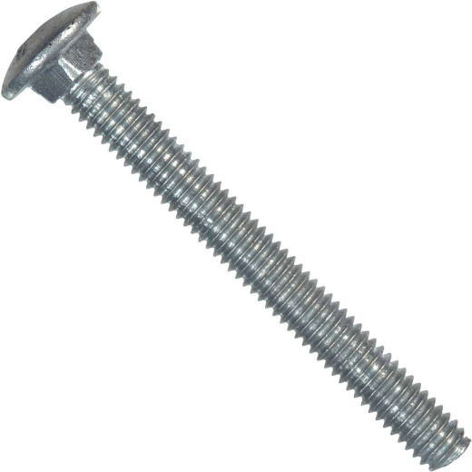Hillman 1/4 In. x 3 In. Grade 2 Galvanized Carriage Bolt (100 Ct.)