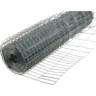 Rabbit Guard 28 In. H. x 50 Ft. L. Galvanized Wire Garden Fence, Silver Image 1