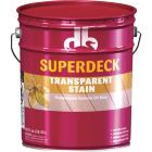 Duckback SUPERDECK VOC Transparent Exterior Stain, Natural, 5 Gal. Image 1